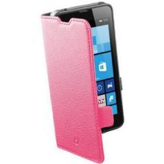 Custodia a libro effetto pelle Lumia 630