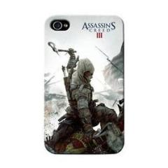 Cover Ass.Creed 3 Ascia iPhone 4/4S
