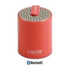 Speaker Musicdrum HI-FI Bluetooth Red