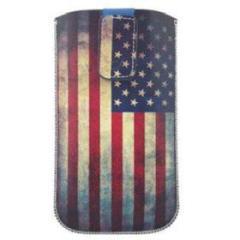 Custodia a fondina Tatto bandiera USA (misura XL)