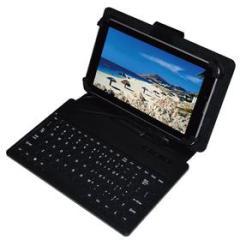 Custodia con tastiera tablet 6''