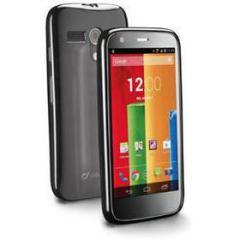 Cover in gomma lucida e pellicola protettiva per Motorola Moto G