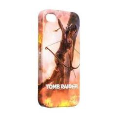 Cover rigida Tomb Raider Fuoco iPhone4