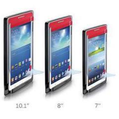 Pellicola protettiva 10' Samsung Galaxy Tab 3 con applicatore di precisione