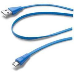 Cavo piatto ricarica e dati con connettore Micro USB