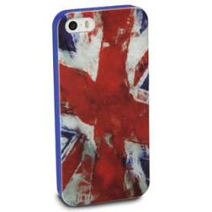 Cover Mundial in gomma bandiera UK iPhone 5