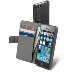 Custodia a libro con porta tessere Book Agenda (iPhone5/5S/SE)