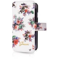 Custodia a libro con motivo floreale Guess per i Phone 6/6S