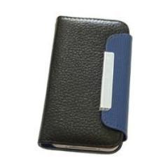 Custodia Folio Case Black/Blue iPhone 4