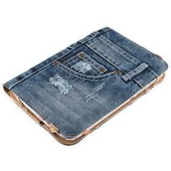 Custodia e Stand in jeans Tablet 7-8''