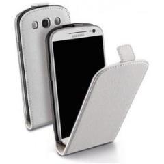 Flip Cover effetto pelle Samsung Galaxy S4