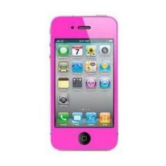 Screen Protector Purple iPhone 4