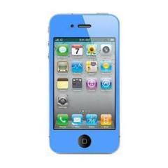 Screen Protector Blue iPhone 4