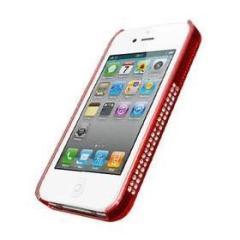 iRound Luxury Red/White iPhone 4/4S