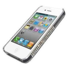 iRound Luxury Clear/White iPhone 4/S