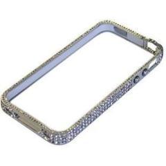 iRound new Luxury silver iPhone 4/4S