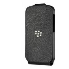 Flip Cover in pelle Blackberry Q10