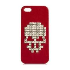 Custodia Single Skull red iPhone 5