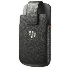 Custodia in pelle da cintura BlackBerry Q10