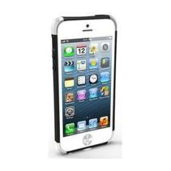 iRound Custom Case black-silver iPhone 5