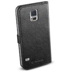 Custodia a libro effetto pelle Samsug Galaxy S5