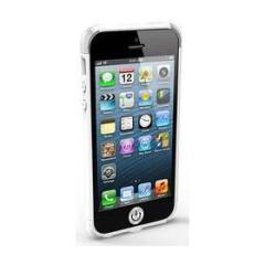 iRound White - Silver corner iPhone 5