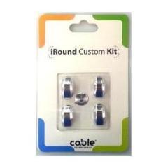 iRound Custom Kit - silver iPhone 5