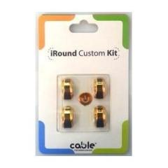 iRound Custom Kit - gold iPhone 5