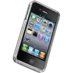 Cover rigida trasparente iPhone 4