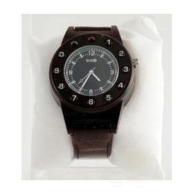 Watch Phone Black Leather Brown
