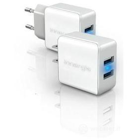 Caricabatterie da rete Dual USB