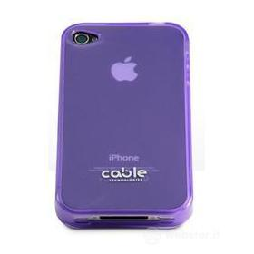 Cover iGLOSSY Purple iPhone 4