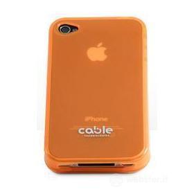 Cover iGLOSSY Orange iPhone 4