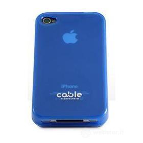 Cover iGLOSSY Blue iPhone 4