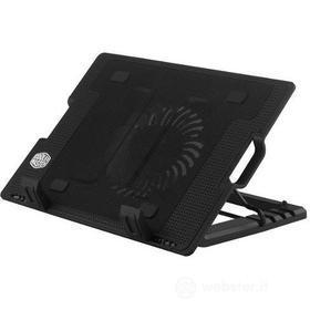 NotePal Ergostand II - Stand regolabile e base di raffreddamento per notebook