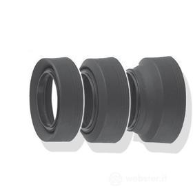 Obiettivo - Paraluce Lens Hood Universale in Gomma 3 in 1 67mm (AZ)