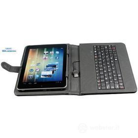 Custodia con tastiera tablet 8''