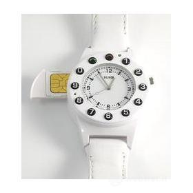 Watch Phone Leather White