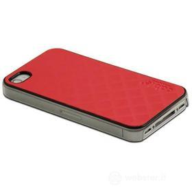 Cover Prismatic Red iPhone 4