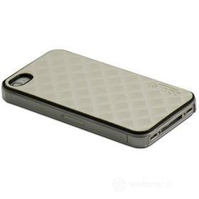 Cover Prismatic Silver iPhone 4