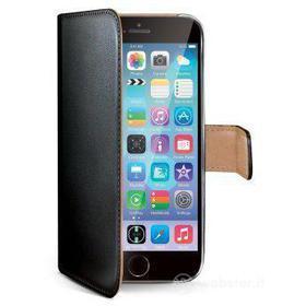 Custodia a portafoglio in ecopelle iPhone 6