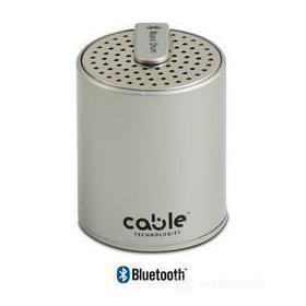 Speaker Muscidrum HI-FI Bluetooth Silver