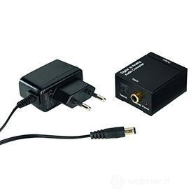 Cavetteria Audio/Video Convert. audio AC80 digit/analog. 83180 (AZ)