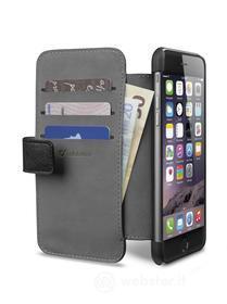 Custodia a libro effetto pelle con tasche iPhone 6 Plus