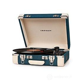 Giradischi Crosley Executive turquoise/cream