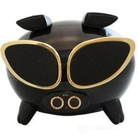 Speaker Superpig nero e oro