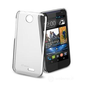 Cover rigida trasparente HTC Deside 310