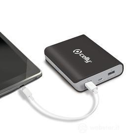 Caricabatterie universale portatile Power Bank 8000 mAh
