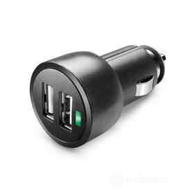 Caricabatterie da auto Dual USB ad alta potenza 3A