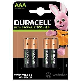 Batteria Standard Ricaricabile DURACELL Ric.AAA BL/4 StayChar.Ready 850 (AZ)